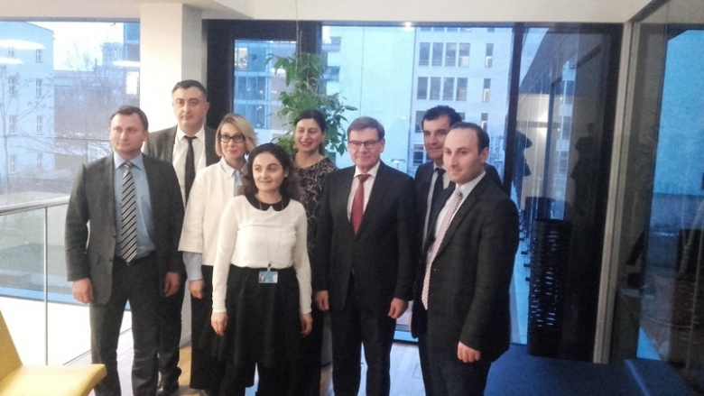Johann Wadephul im Gespräch mit georgischer Parlamentsdelegation