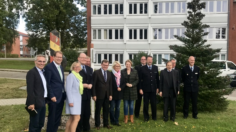 Besuch der Bundespolizeidirektion in Bad Bramstedt