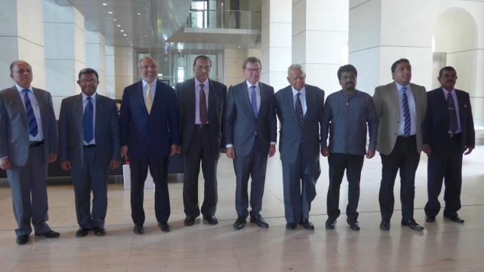 Gedankenaustausch mit Parlamentariern aus Sri Lanka