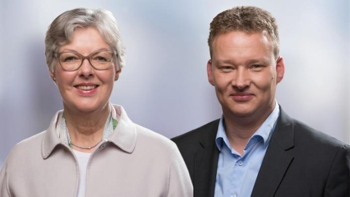 Dr. Juliane Rumpf und Tim Albrecht