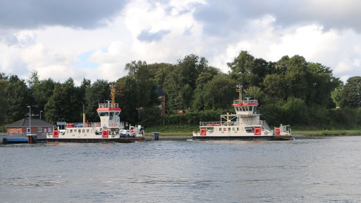 Neue Fähren am Nord-Ostsee-Kanal