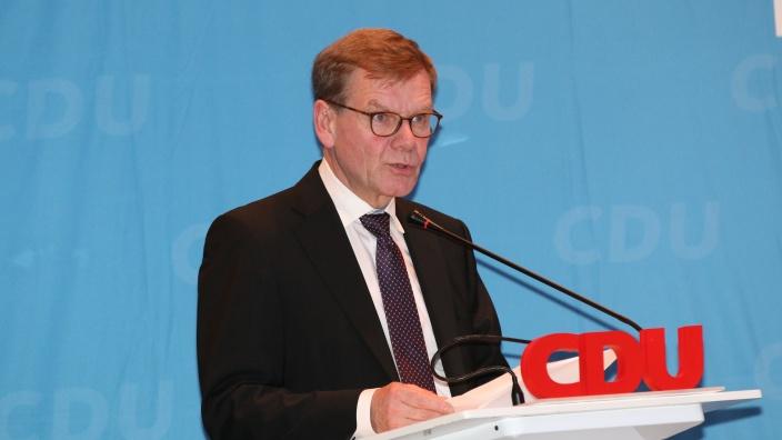 CDU Rednerpult