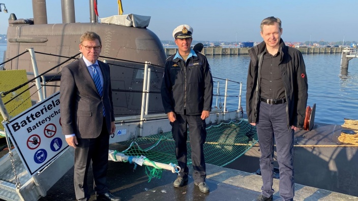 U-Bootflottille Eckernförde mit PStS Silberhorn